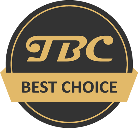logo tbc the best choice
